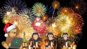 Auguri scimmie 2016