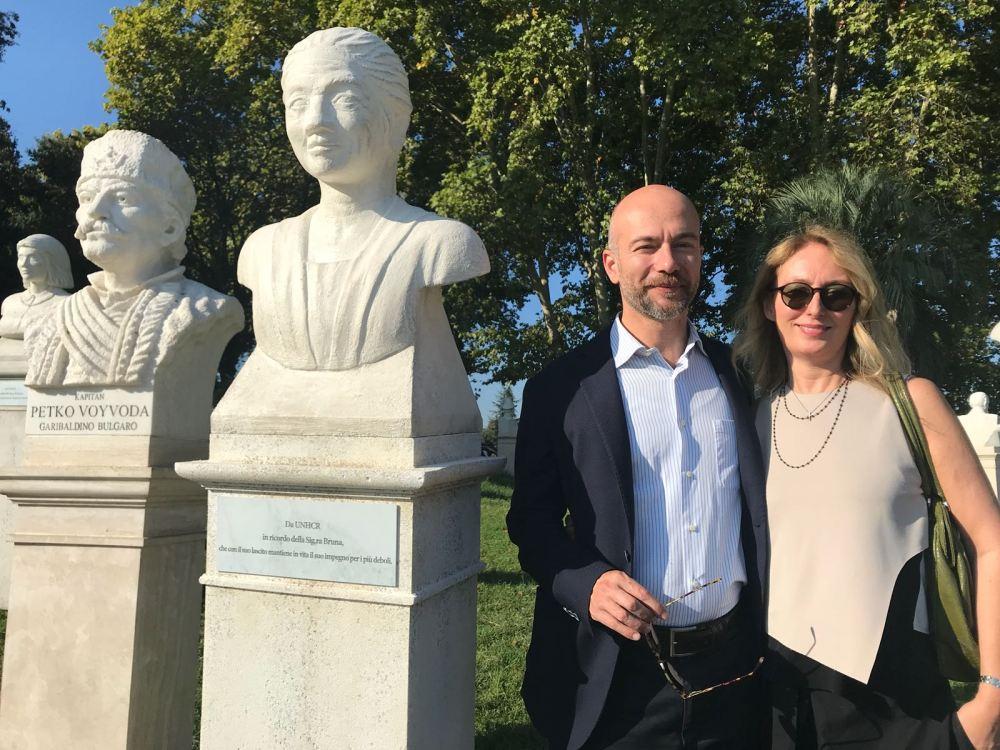 Alessia e Alberto Floridi - Nipoti Sig.ra Bruna