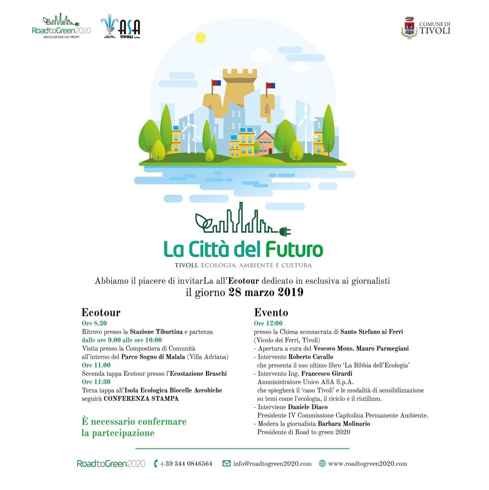 ECOTOUR La città del futuro - Tivoli -programma