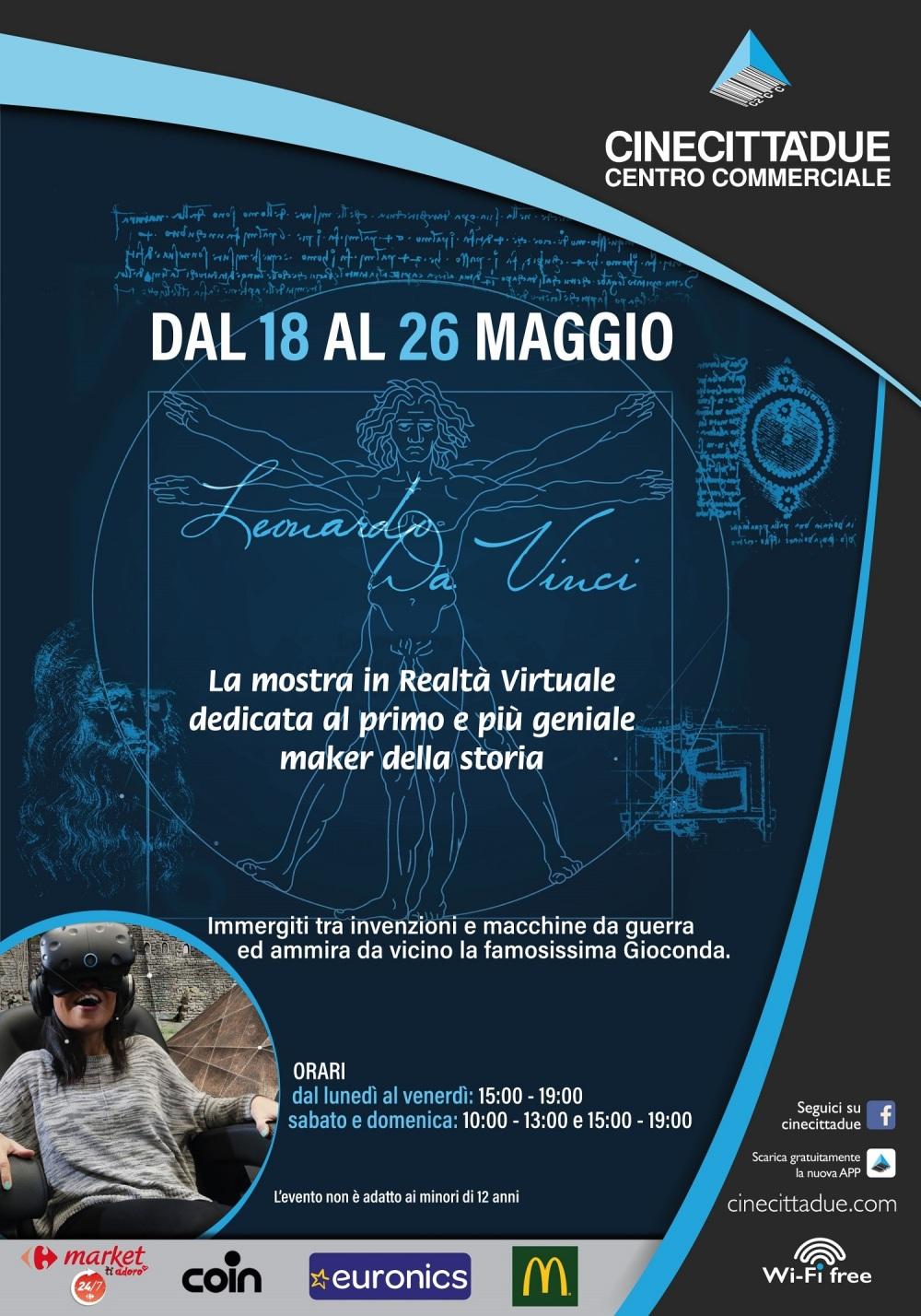 CinecittàDue - Leonardo da Vinci - locandina