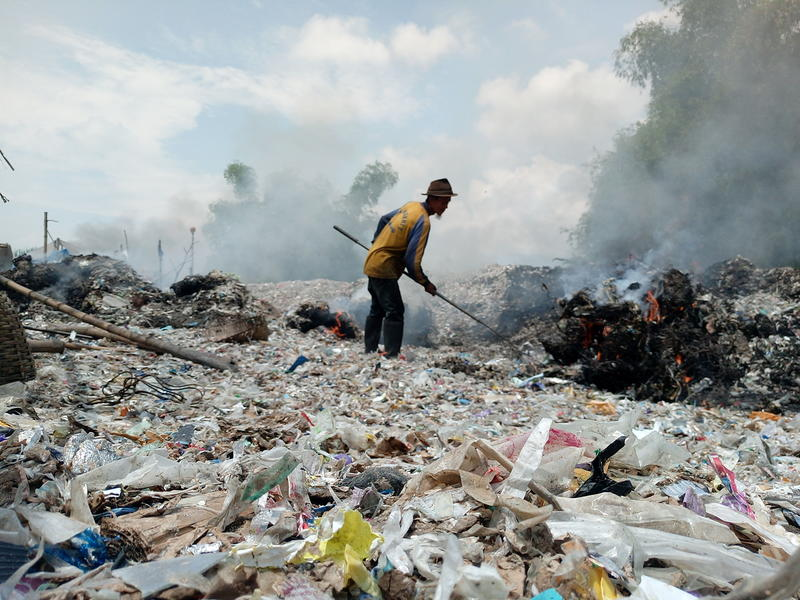 Plastics crisis in Bangun Village, Indonesia