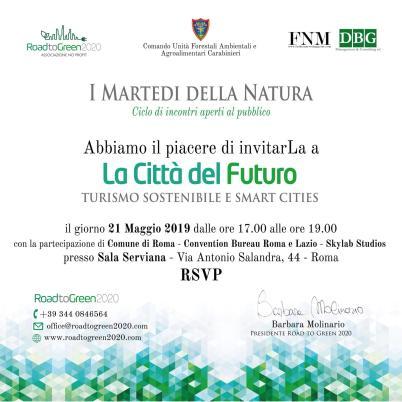 La città del futuro - Turismo sostenibile e smart cities
