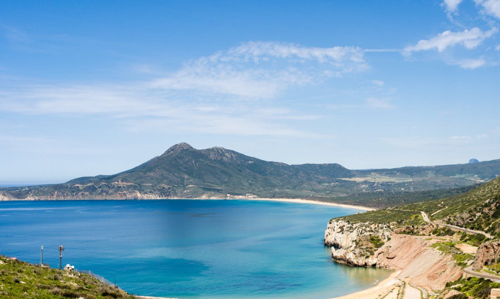 Sardinia, coast of Buggerru