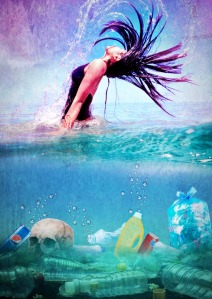 Plastica nelle acque