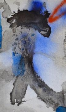 019_Passage_pigmenti e acrilico su tela _cm 60x35_2019