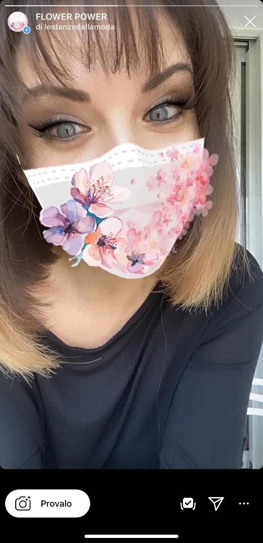 Ida Galati - filtro mascherina